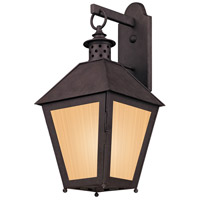 Troy Lighting BF3293 Sagamore 1 Light 23 inch Centennial Rust Outdoor Wall in Fluorescent