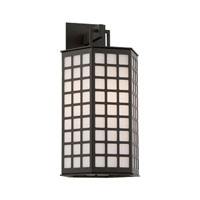 Troy Lighting Cameron 1 Light Outdoor Wall in Bronze with Coastal Finish BF3412-C