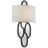 Troy Lighting Chime 2 Light Fluorescent Wall Sconce in Charred Copper BF3472