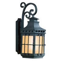 Dover 1 Light 23 inch Natural Bronze Outdoor Wall Lantern in Fluorescent