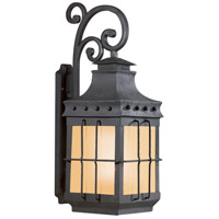Troy Lighting Dover 1 Light Outdoor Wall Lantern Fluorescent in Natural Bronze BF8974NB