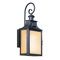 Troy Lighting BF9001OBZ Newton 1 Light Old Bronze Outdoor Wall Lantern Fluorescent photo thumbnail