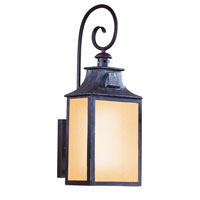 Newton 1 Light 23 inch Old Bronze Outdoor Wall Lantern Fluorescent