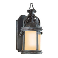 Troy Lighting Pamplona 1 Light Outdoor Wall Lantern in Old Bronze BF9120OBZ