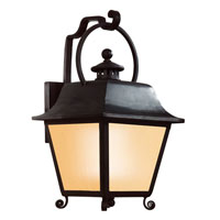 Troy Lighting Bristol 1 Light Outdoor Wall Lantern Fluorescent in Natural Bronze BF9442NB