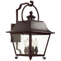Troy Lighting Bristol 1 Light Outdoor Wall Lantern Fluorescent in Natural Bronze BF9443NB