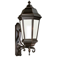 Verona 1 Light 44 inch Antique Bronze Outdoor Wall Lantern Fluorescent