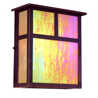 Troy Lighting Monterey 2 Light Outdoor Wall Pocket Fluorescent in Oil Rubbed Bronze BFIH5912OB