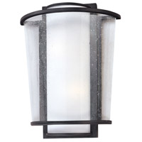 Bennington LED 9 inch Forged Bronze Wall Sconce Wall Light, Matte Opal and Seeded Clear Glass