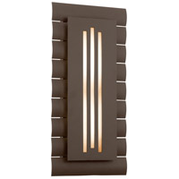 Troy Lighting Dayton 16 Light Outdoor Wall in Bronze with Coastal Finish BL3363BZ-C