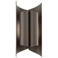 Kinetic LED 15 inch Bronze Outdoor Wall