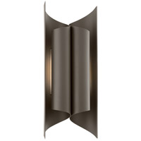 Kinetic LED 19 inch Bronze Outdoor Wall