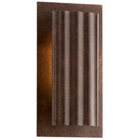 Dwell LED 11 inch Country Rust Outdoor Wall Sconce