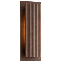 Troy Lighting Dwell 1 Light LED Outdoor Wall Sconce in Country Rust BL3723