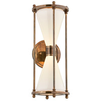 Troy Lighting BL4632 Magellan LED 19 inch Historic Brass Outdoor Wall Sconce
