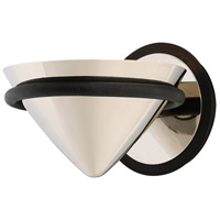 Troy Lighting Zero Gravity - LED Wall Sconce - Carbide Black and Polished Nickel Finish - Polished Nickel Metal BL4811