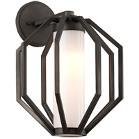 Boundary LED 17 inch Textured Graphite Outdoor Wall Light