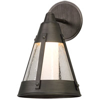 North Bay LED 13 inch Graphite Outdoor Wall Light