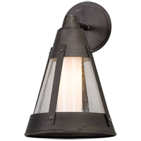 North Bay LED 16 inch Graphite Outdoor Wall Light