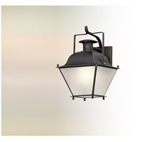 Wellesley LED 16 inch Charred Iron Outdoor Wall Lantern