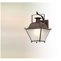Wellesley LED 16 inch Natural Rust Outdoor Wall Lantern