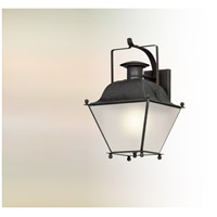 Wellesley LED 19 inch Charred Iron Outdoor Wall Lantern