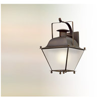 Wellesley LED 19 inch Natural Rust Outdoor Wall Lantern