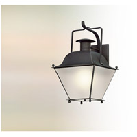 Wellesley LED 24 inch Charred Iron Outdoor Wall Lantern