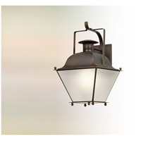 Wellesley LED 24 inch Natural Rust Outdoor Wall Lantern