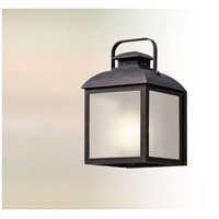 Chamberlain LED 22 inch Vintage Bronze Outdoor Wall Lantern