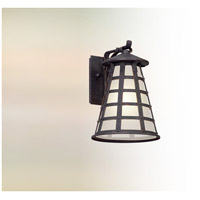 Troy Lighting BL5161 Benjamin LED 11 inch Vintage Iron Outdoor Wall Lantern