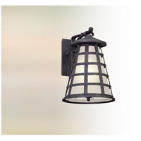 Troy Lighting BL5162 Benjamin LED 14 inch Vintage Iron Outdoor Wall Lantern