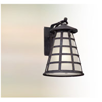 Troy Lighting BL5163 Benjamin LED 18 inch Vintage Iron Outdoor Wall Lantern