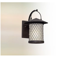 Altamont LED 12 inch French Iron Outdoor Wall Lantern