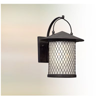 Altamont LED 14 inch French Iron Outdoor Wall Lantern