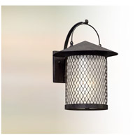 Altamont LED 17 inch French Iron Outdoor Wall Lantern