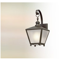 Mumford 1 Light 14 inch Bronze Outdoor Wall Lantern