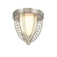 Troy Lighting Collins 2 Light Flush Mount in Polished Nickel C1920PN