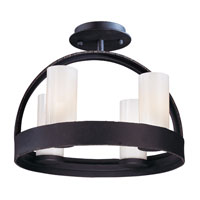 Troy Lighting Eclipse 4 Light Ceiling Semi-Flush in Federal Bronze C2800