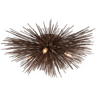 Troy Lighting Uni 4 Light Semi-Flush in Tidepool Bronze C3664