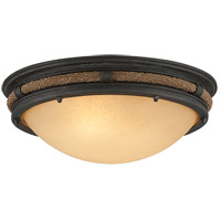 Pike Place 2 Light 17 inch Flush Mount Ceiling Light in Incandescent