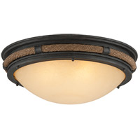Troy Lighting C4121 Pike Place 3 Light 21 inch Flush Mount Ceiling Light
