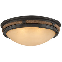 Pike Place 4 Light 28 inch Flush Mount Ceiling Light in Incandescent