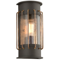 Cabot 1 Light 14 inch Historic Bronze Outdoor Wall Sconce in Incandescent