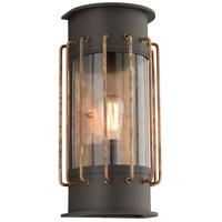 Troy Lighting Cabot 1 Light Outdoor Wall Sconce in Bronze B4663