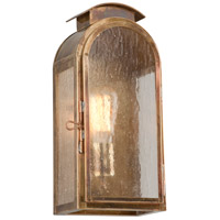 Troy Lighting B4401HBZ Copley Square 1 Light 13 inch Historic Brass Outdoor Wall Sconce in Incandescent