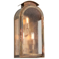 Troy Lighting B4403HBZ Copley Square 3 Light 21 inch Historic Brass Outdoor Wall Sconce in Incandescent