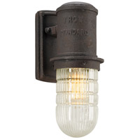 Dock Street 1 Light 12 inch Centennial Rust Outdoor Wall Sconce in Incandescent