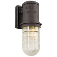 Troy Lighting B4342 Dock Street 1 Light 14 inch Centennial Rust Outdoor Wall Sconce in Incandescent