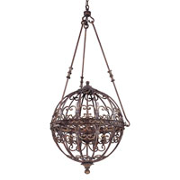La Paloma 9 Light 31 inch Venetian Bronze Entry Chandelier Ceiling Light